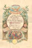 Wilhelm Knuth Wedding Certificate